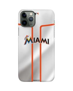 Miami Marlins Home Jersey iPhone 11 Pro Lite Case