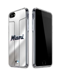 Miami Marlins Home Jersey iPhone SE Clear Case