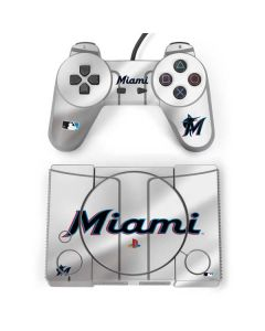 Miami Marlins Home Jersey PlayStation Classic Bundle Skin