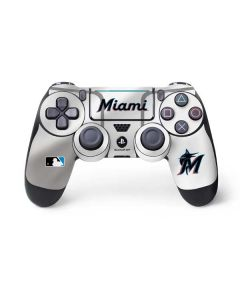 Miami Marlins Home Jersey PS4 Pro/Slim Controller Skin