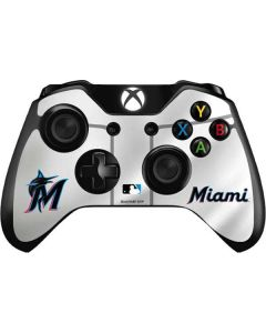 Miami Marlins Home Jersey Xbox One Controller Skin