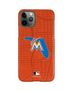 Miami Marlins Home Turf iPhone 11 Pro Lite Case