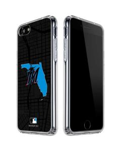 Miami Marlins Home Turf iPhone SE Clear Case