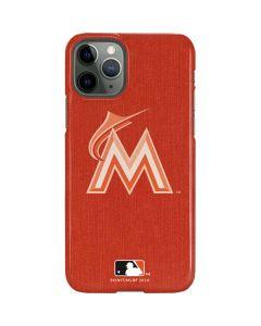 Miami Marlins Monotone iPhone 11 Pro Lite Case