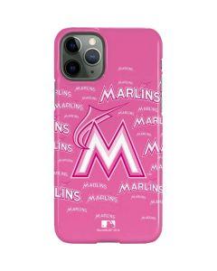 Miami Marlins Pink Blast iPhone 11 Pro Lite Case