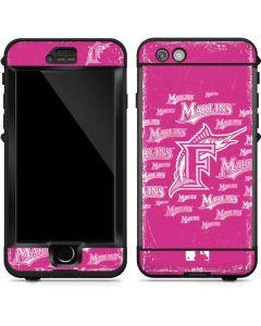 Miami Marlins Pink Blast LifeProof Nuud iPhone Skin