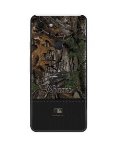 Miami Marlins Realtree Xtra Camo Google Pixel 3 XL Skin