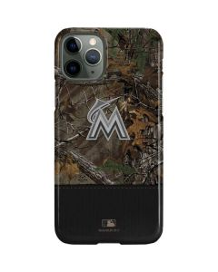 Miami Marlins Realtree Xtra Camo iPhone 11 Pro Lite Case