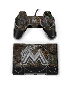 Miami Marlins Realtree Xtra Camo PlayStation Classic Bundle Skin