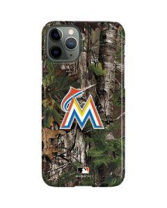 Miami Marlins Realtree Xtra Green Camo iPhone 11 Pro Lite Case