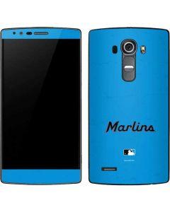 Miami Marlins Solid Distressed G4 Skin