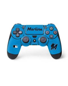 Miami Marlins Solid Distressed PS4 Pro/Slim Controller Skin