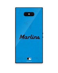 Miami Marlins Solid Distressed Razer Phone 2 Skin