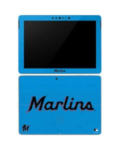 Miami Marlins Solid Distressed Surface Go Skin