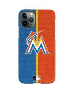 Miami Marlins Split iPhone 11 Pro Lite Case