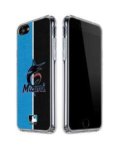 Miami Marlins Split iPhone SE Clear Case