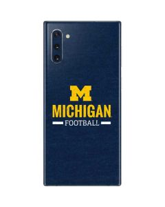 Michigan Football Galaxy Note 10 Skin