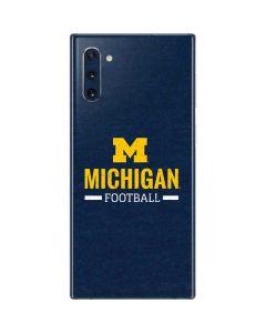 Michigan Football Galaxy Note 10 Skin