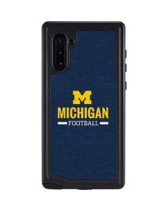 Michigan Football Galaxy Note 10 Waterproof Case