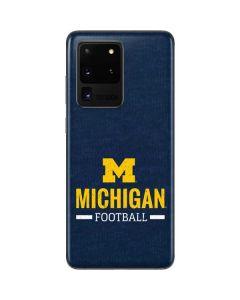 Michigan Football Galaxy S20 Ultra 5G Skin