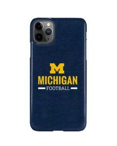 Michigan Football iPhone 11 Pro Max Lite Case