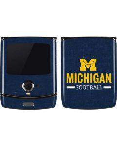 Michigan Football Motorola RAZR Skin