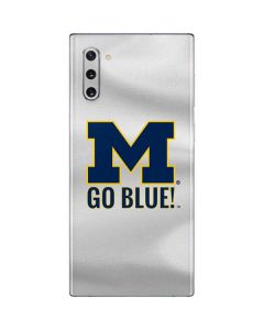 Michigan Go Blue Galaxy Note 10 Skin