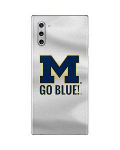 Michigan Go Blue Galaxy Note 10 Skin