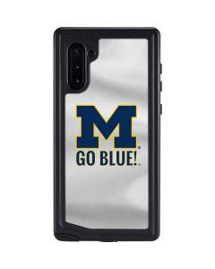 Michigan Go Blue Galaxy Note 10 Waterproof Case