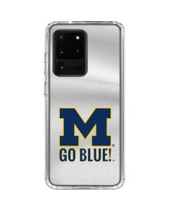 Michigan Go Blue Galaxy S20 Ultra 5G Clear Case
