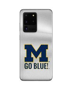 Michigan Go Blue Galaxy S20 Ultra 5G Skin