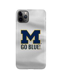 Michigan Go Blue iPhone 11 Pro Max Lite Case