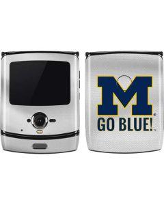 Michigan Go Blue Motorola RAZR Skin