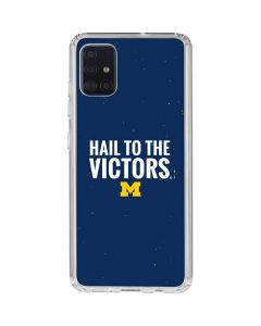 Michigan Hail to the Victors Galaxy A51 Clear Case