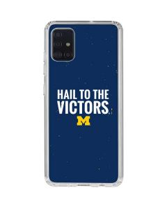 Michigan Hail to the Victors Galaxy A71 Clear Case