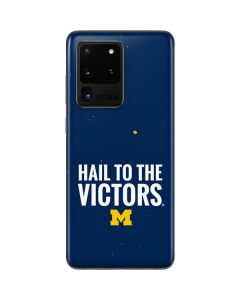 Michigan Hail to the Victors Galaxy S20 Ultra 5G Skin