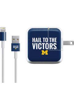 Michigan Hail to the Victors iPad Charger (10W USB) Skin