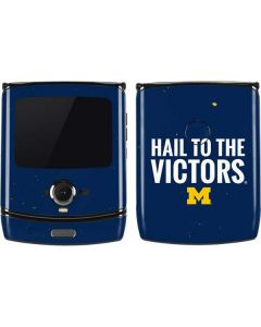 Michigan Hail to the Victors Motorola RAZR Skin