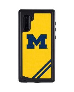 Michigan Large Logo Galaxy Note 10 Waterproof Case