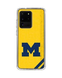 Michigan Large Logo Galaxy S20 Ultra 5G Clear Case
