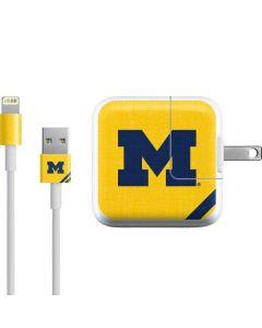 Michigan Large Logo iPad Charger (10W USB) Skin