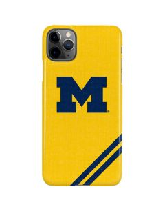 Michigan Large Logo iPhone 11 Pro Max Lite Case