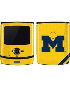 Michigan Large Logo Motorola RAZR Skin