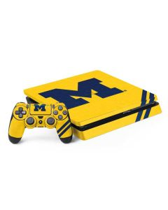 Michigan Large Logo PS4 Slim Bundle Skin