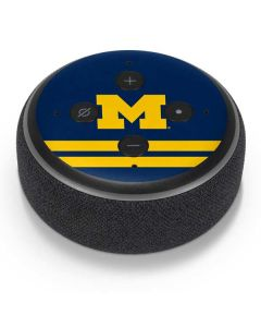Michigan Logo Striped Amazon Echo Dot Skin