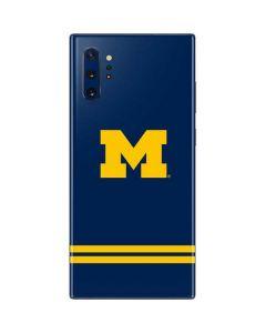 Michigan Logo Striped Galaxy Note 10 Plus Skin
