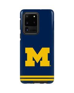 Michigan Logo Striped Galaxy S20 Ultra 5G Pro Case