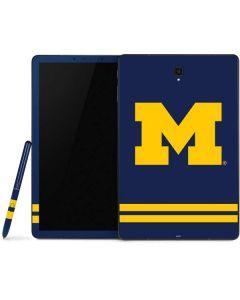 Michigan Logo Striped Samsung Galaxy Tab Skin