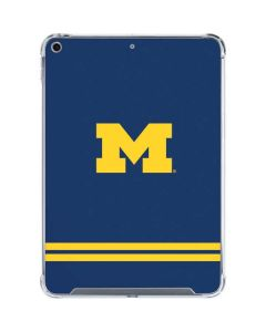 Michigan Logo Striped iPad 10.2in (2019-20) Clear Case