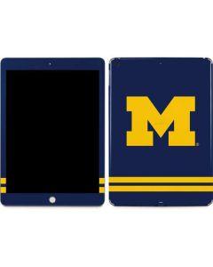 Michigan Logo Striped Apple iPad Skin